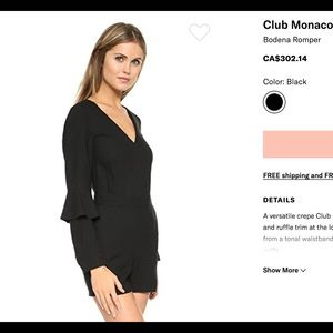 Club Monaco romper 00